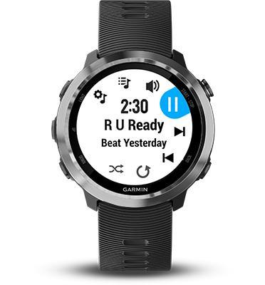 השעון שיכניס אותך לקצב פתרון תשלום ללא מגע מבית GARMIN דגם Forerunner 645 Music Cerise