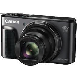 מצלמה קומפקטית WIFI מובנה עם NFC  זום אופטי 40X וידיאו HD תוצרת CANON דגם  PowerShot SX720 HS