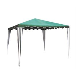 גזיבו פוליאסטר 3x3 מטר אלגנטי קל משקל ובצבע ירוק מבית Australia Camp דגם עינת