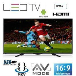 """טלויזיה """"32 HD READY SMART TV צבע שחור תוצרת LENCO דגם LD-32AN/EL - מעודפים/תצוגה!"""