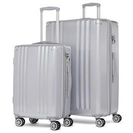 סט מזוודות קשיחות 2 יח 28 20 אינטש מבית CALPAK דגם Ambeur