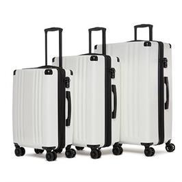 סט מזוודות קשיחות 3 יח 28 24 20 אינטש מבית CALPAK דגם Ambeur