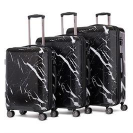 סט מזוודות קשיחות 3 יח' 28 24 20 אינטש מבית CALPAK דגם ASTYLL