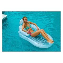 כורסא מתנפחת למים עם משענת מבית INTEX דגם 58857