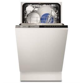 """מדיח כלים צר אינטגרלי מלא 45 ס""""מ ל- 9 מערכות כלים תוצרת Electrolux דגם ESL4510LO"""