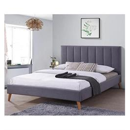 מיטה זוגית 140x190 מרופדת בד HOME DECOR דגם לימה