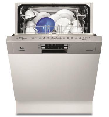 """מדיח כלים חצי אינטגרלי רחב 60 ס""""מ ל- 13 מערכות כלים תוצרת Electrolux דגם ESI5525LAX"""