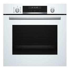 תנור בנוי פירוליטי בנפח 71 ליטר מסדרת Serie 6 צבע לבן תוצרת BOSCH דגם HBG578BW0Y