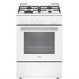 תנור אפייה משולב כיריים גז בנפח 66 ליטר בעיצוב לבן תוצרת CONSTRUCTA דגם CH9M10H20Y