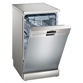 """מדיח כלים צר 45 ס""""מ דמוי נירוסטה 10 מערכות כלים speedMatic תוצרת SIEMENS דגם SR236I00ME"""