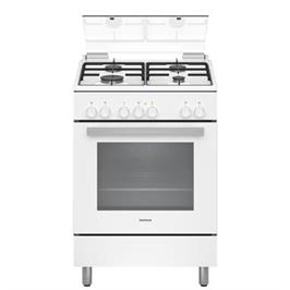 תנור משולב כיריים בנפח 66 ליטר בעיצוב לבן תוצרת CONSTRUCTA דגם CH9M10D21Y