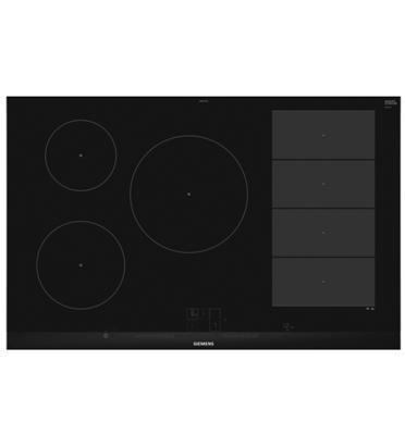"""כיריים אינדוקציה 5 אזורי בישול 80 ס""""מ בישול גמיש flexInduction  תוצרת SIEMENS דגם EX875LVC1E"""
