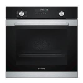 תנור בנוי פירוליטי 71 ליטר בעיצוב שחור עם נירוסטה מסדרת iQ500 תוצרת SIEMENS דגם HB378GBR0Y