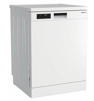 מדיח כלים רחב אלקטרוני ל-14 מערכות כלים צבע לבן תוצרת Blomberg דגם GSN209P8W דגם חדש