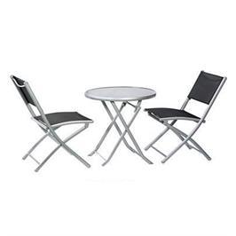 שולחן עם 2 כסאות איכותיים מתקפלים לאירוח במרפסת ובגינה תוצרת AUSTRALIA CAMP דגם בולוניה