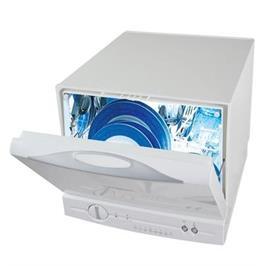 מדיח כלים קומפקטי על השיש ל- 4 מערכות כלים תוצרת DIAMLLER דגם SKS3629DW