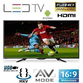 """טלויזיה """"50 FHD SMART TV צבע שחור תוצרת Lenco דגם LD-50AN/EL"""