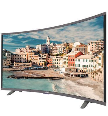 """טלויזיה קעורה """"SMART CURVED 4K ULTRA HD LED TV 55 תוצרת Peerless דגם 5530"""