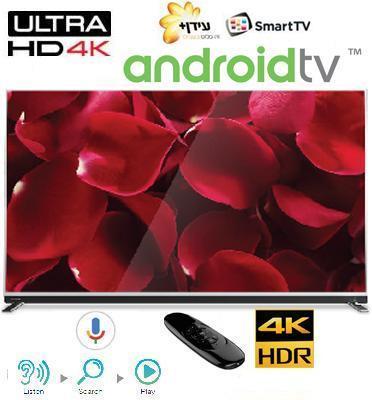 """טלויזיה """"55 Ultra HD 4K androidtv תוצרת TOSHIBA דגם 55U9750VQ"""