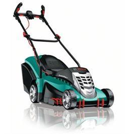 מכסחת דשא 1800 וואט ידיות Ergoflex  לעבודה נוחה ללא מאמץ! תוצרת BOSCE דגם ROTAK 43 GEN 4