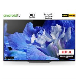 """טלויזיה """"55 4K BRAVIA OLED Android TV תוצרת SONY. דגם KD-55AF8BAEP"""