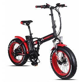 אופניים חשמליים שילדה קלה מאלומניום צמיגים סופר רחבים 48V מבית Smart Bike דגם BIG FOOT