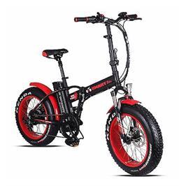אופניים חשמליים  צמיגים סופר רחבים 4.0*20 שילדה קלה מאלומניום מבית Smart Bike דגם BIG FOOT HD
