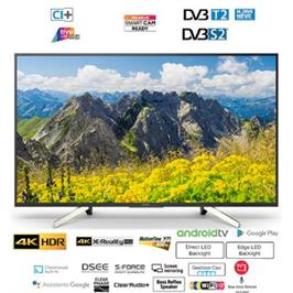 "טלויזיה ""49 4K  LED Android TV תוצרת Sony דגם KD-49XF7596BAEP"