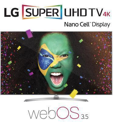 """טלוויזיה """"49 LED חכמה Smart TV  ברזולוציית 4K Ultra HD תוצרת LG דגם NanoCell 49SK7900Y"""