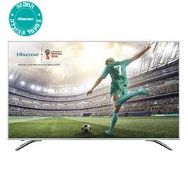 "טלויזיה ""55 SMART LED TV 4K Ultra HD תוצרת Hisense דגם H55A6500IL"