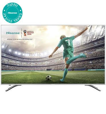 "טלויזיה ""65 SMART LED TV 4K Ultra HD תוצרת Hisense דגם H65A6500IL"