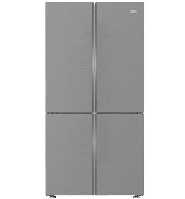 מקרר 4 דלתות מקפיא תחתון 580 ליטר NO FROST גימור נירוסטה תוצרת BEKO דגם  GN1406223ZPX