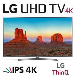 """טלויזיה חכמה """"50 LED 4K Smart TV עם פאנל IPS, אינדקס עיבוד תמונה תוצרת LG דגם 50UK6700Y"""