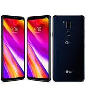 """סמארטפון 64GB מסך 6.1"""" מצלמה כפולה 16MP+8MP תוצרת LG דגם LM-G710EM G7"""