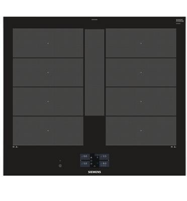 """כיריים אינדוקציה 60 ס""""מ Flex Zone עם איזור בישול מורחב תוצרת SIEMENS דגם EX675JYW1E"""