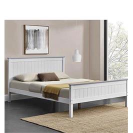 מיטה זוגית 160x200 מעץ מלא בעיצוב קלאסי סדרת VERY WOOD רהיטי נוחות מבית HOME DECOR דגם ליטל 160