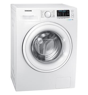 """מכונת כביסה פתח חזית 9 קילו 1200 סל""""ד טכנולוגיה Eco Bubble תוצרת Samsung דגם WW9SJ5345DW"""