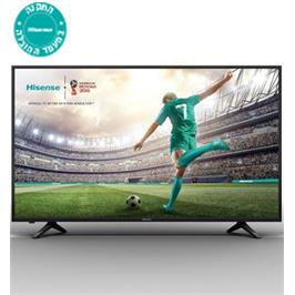 "טלויזיה ""55 SMART LED TV 4K Ultra HD תוצרת Hisense דגם H55A6100IL"