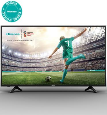 "טלויזיה ""65 SMART LED TV 4K Ultra HD תוצרת Hisense דגם H65A6100IL"