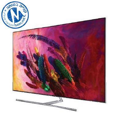 """טלויזיה """"55 4K FLAT QLED SMART TV תוצרת SAMSUNG. מסדרת QLED דגם 55Q7FN"""