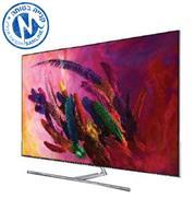 """טלויזיה """"65 4K FLAT QLED SMART TV תוצרת SAMSUNG. מסדרת QLED דגם 65Q7FN"""