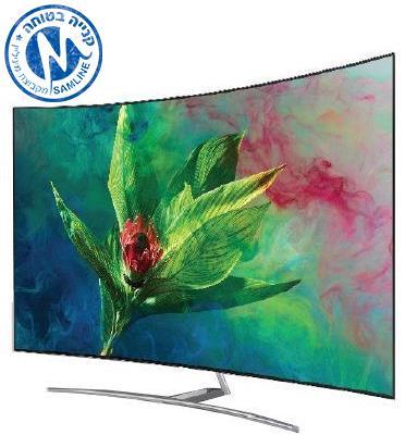 """טלויזיה """"55 4K CURVED QLED SMART TV תוצרת SAMSUNG מסדרת QLED דגם 55Q8CN"""