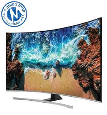 """טלויזיה """"55 4K Curved Premium Slim SMART TV תוצרת SAMSUNG דגם 55NU8500"""
