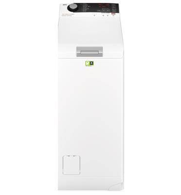"""מכונת כביסה פתח עליון 7 ק""""ג 1200 סל""""ד סדרה 7000 טכנולוגיית ProSteam® תוצרת AEG דגם LTX7E7221EM"""