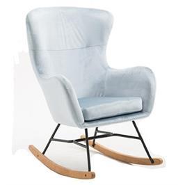 כורסא מעוצבת עם רגלי נדנדה מבית HOME DECOR דגם עדי