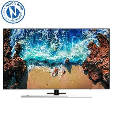 """טלויזיה """"55 4K FLAT Premium Slim SMART TV תוצרת SAMSUNG. דגם 55NU8000"""