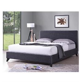 מיטה ברוחב וחצי מרופדת בעיצוב צעיר מבית HOME DECOR דגם עמית