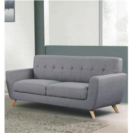 ספה תלת מושבית מרשימה ונוחה בעיצוב רטרו מבית HOME DECOR דגם גרייס