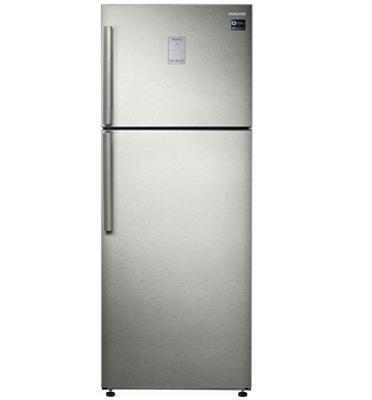 מקרר 2 דלתות מקפיא עליון 476 ליטר No Frost מדחס אינוורטר תוצרת Samsung דגם  RT46K6330SP/ML