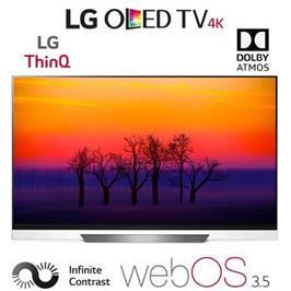 """טלויזיה """"65 בטכנולוגיית OLED ברזולוצית 4K Ultra HD עם ניגודיות אינסופית תוצרת LG דגם OLED65E8Y"""